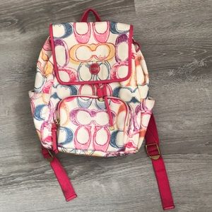 *SOLD* Coach Backpack